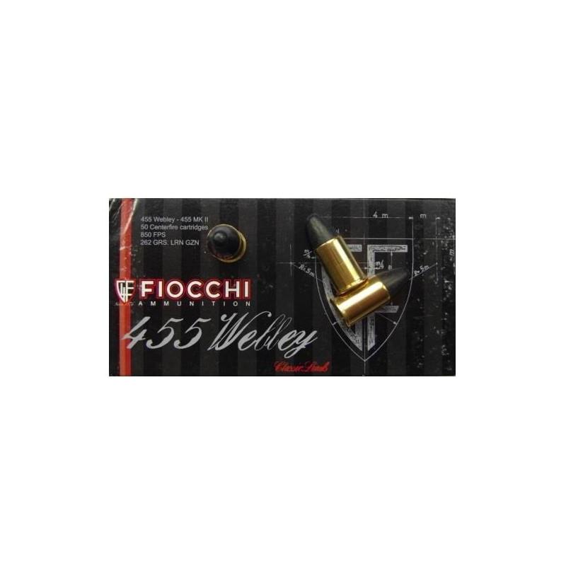 Ammo 455 MKII 262Gr Fiocchi...