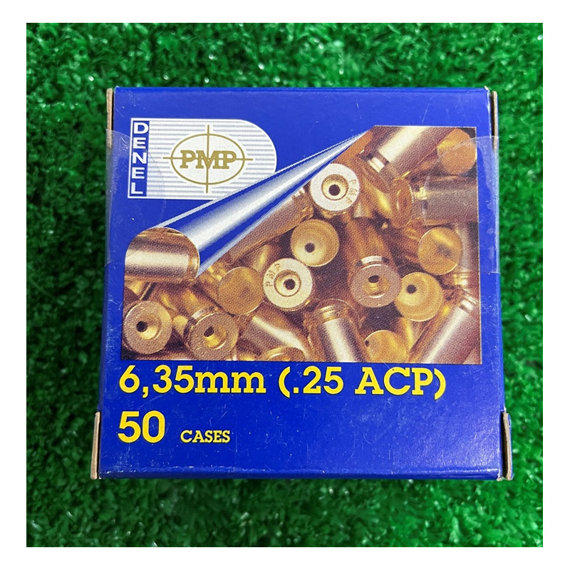 B 6.35mm ACP PMP Boxer 50's