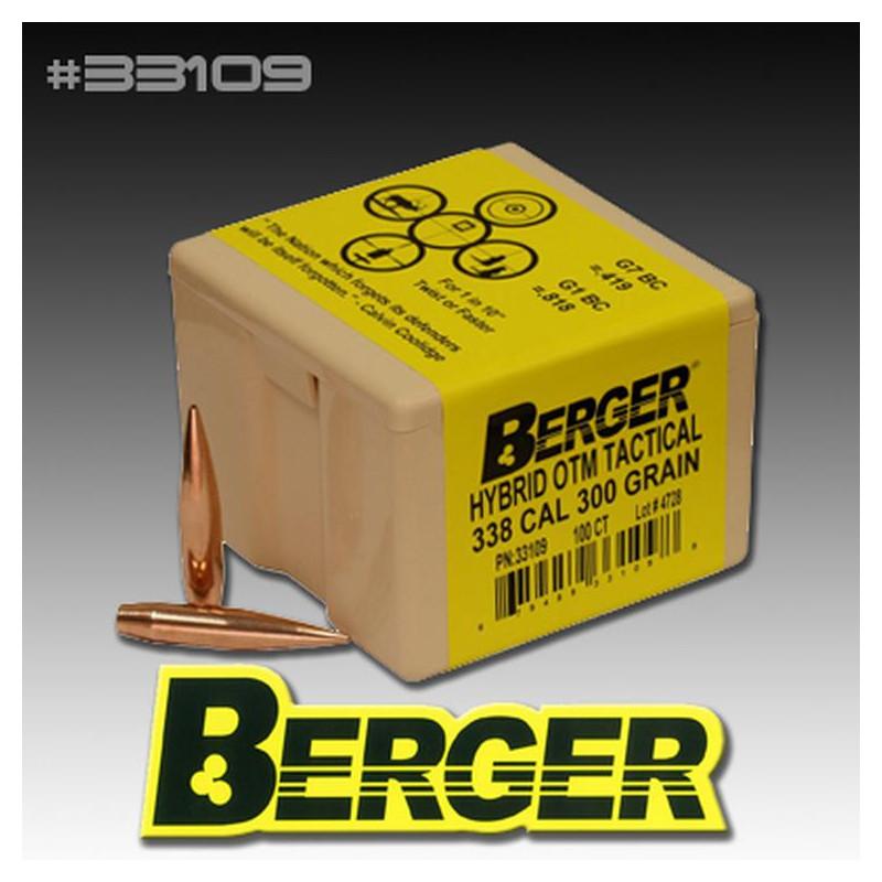 P .338 Cal 300Gr Berger...