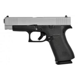 Glock G48 9mm Silver Slide Slim