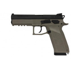 CZ 75 P-09 9mmP FDE Tritium