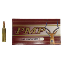Ammo 243 Win 80Gr PMP SP 20's