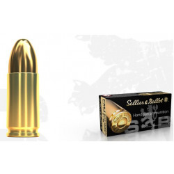 Ammo 9mm P 124G S&B FMJ 50's