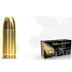 Ammo 9mm P 115gr S&B JHP 50's