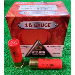 Ammo 16Ga 28Gr GB No7 25's