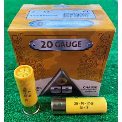 Ammo 20Ga 25Gr GB No7 25's
