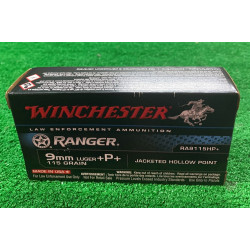 Ammo 9mmP 115Gr Winchester...