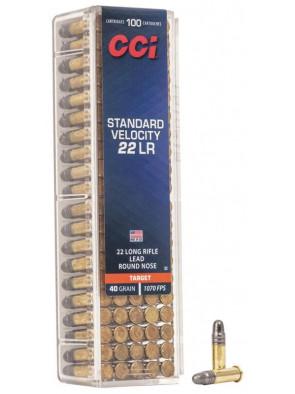 Ammo 22 LR 40gr CCI STD...