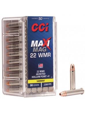 Ammo 22 WM 30gr CCI Maxi...