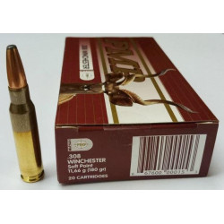 Ammo 308 Win 180Gr PMP SP 20's