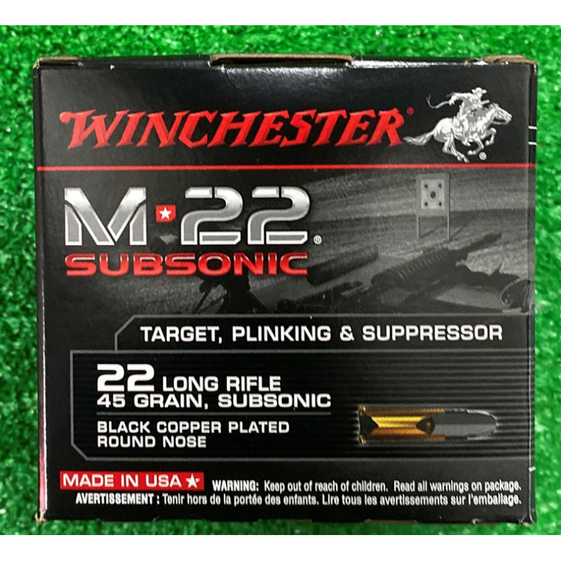 Ammo 22 LR 45Gr Winchester...