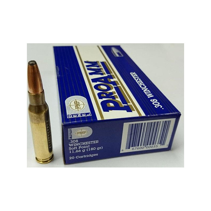 Ammo 308 Win 180Gr PMP...