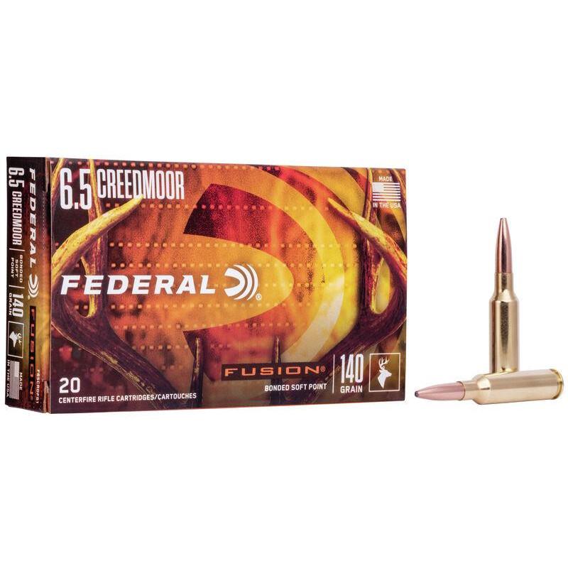 Ammo 6.5mm Creedmoor 140Gr...