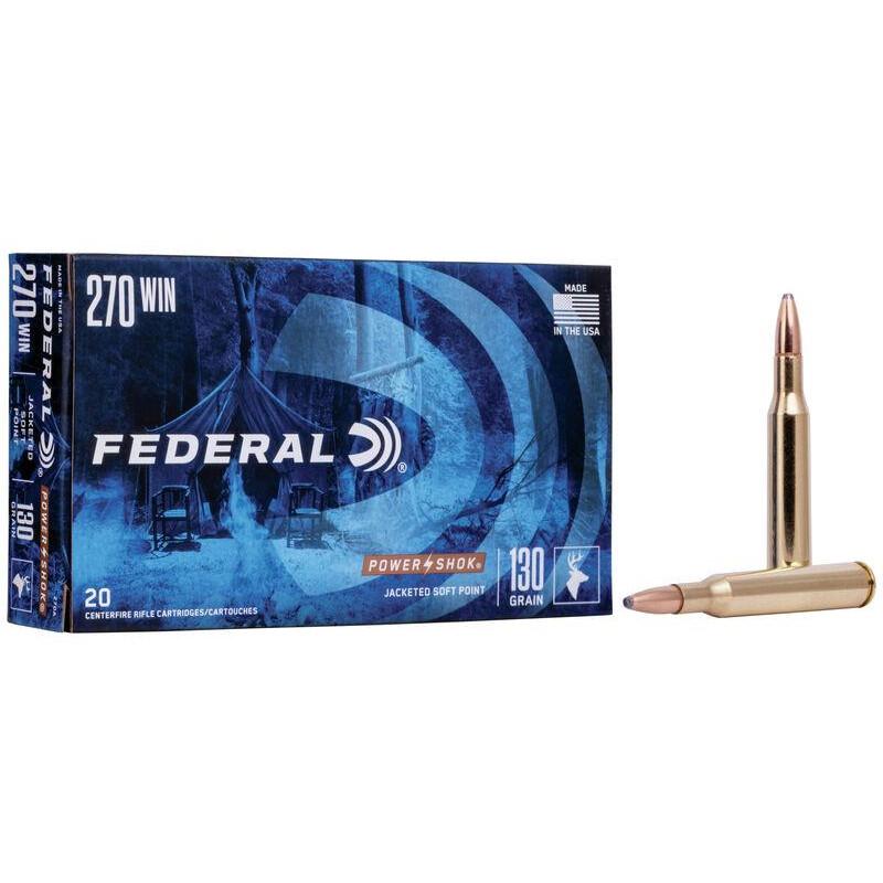 Ammo 270 Win 130Gr Federal...