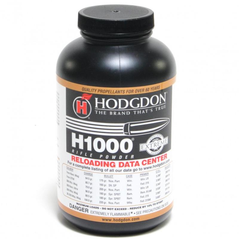 Powder Hodgdon H1000 1LB Can
