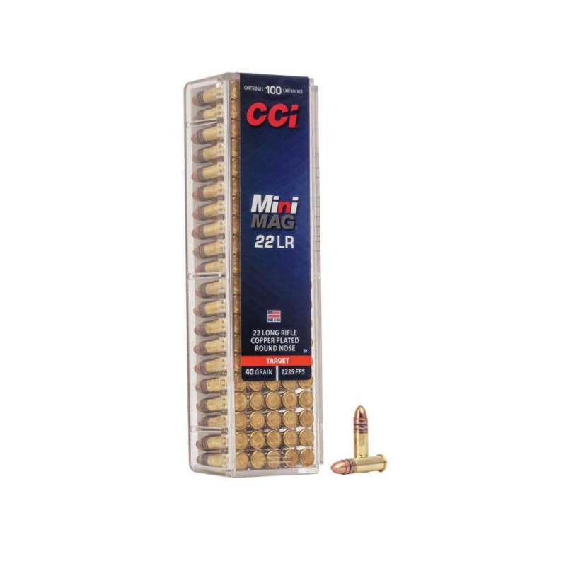 Ammo 22 LR CCI Mini Mag...