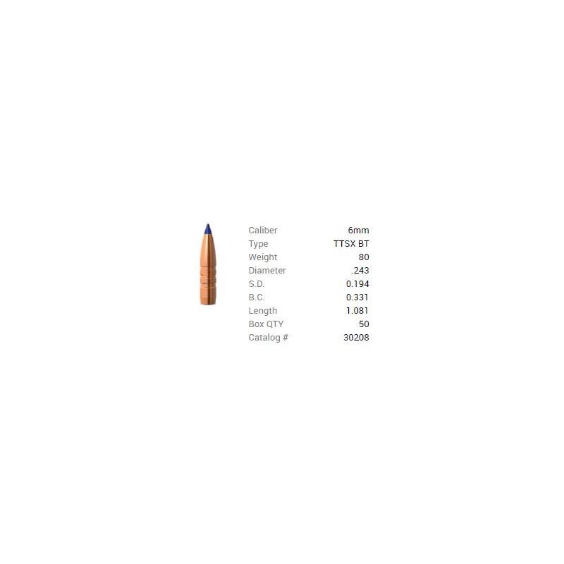 P 6mm (243) 80Gr Barnes...