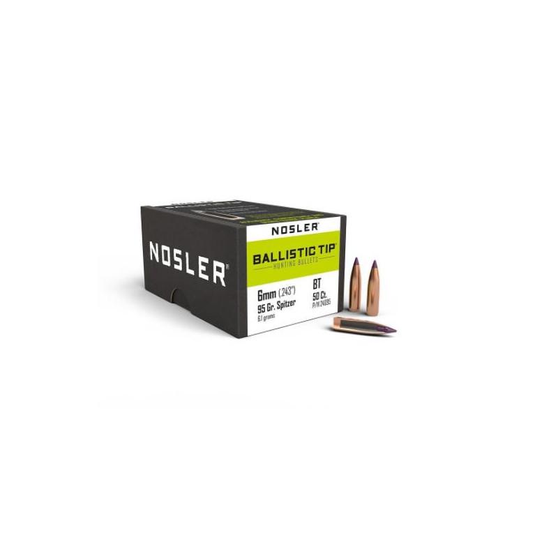 P 6mm (243) 95Gr Nosler...